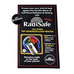 RadiSafe Mobile Phone Button
