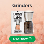stainless steel and glass grinders salt pepper