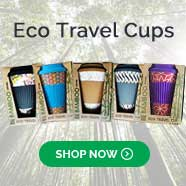 Bamboo travel coffee cup Australia