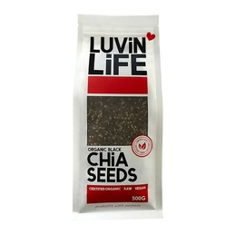 Certified Organic Black Chia Seeds