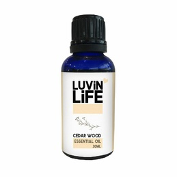 100% Pure Essential Oil - Cedarwood 30ml