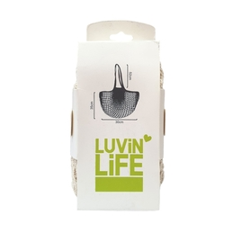 Luvin Life Enviro String Bag - Long Handle 52cm - Natural White
