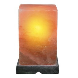Rectangle Shaped Himalayan Salt Lamp