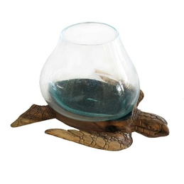 Wood and Glass - Turtle