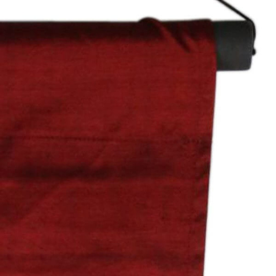 Courage Layered Affirmation Banner [ Colour : burgundy ]